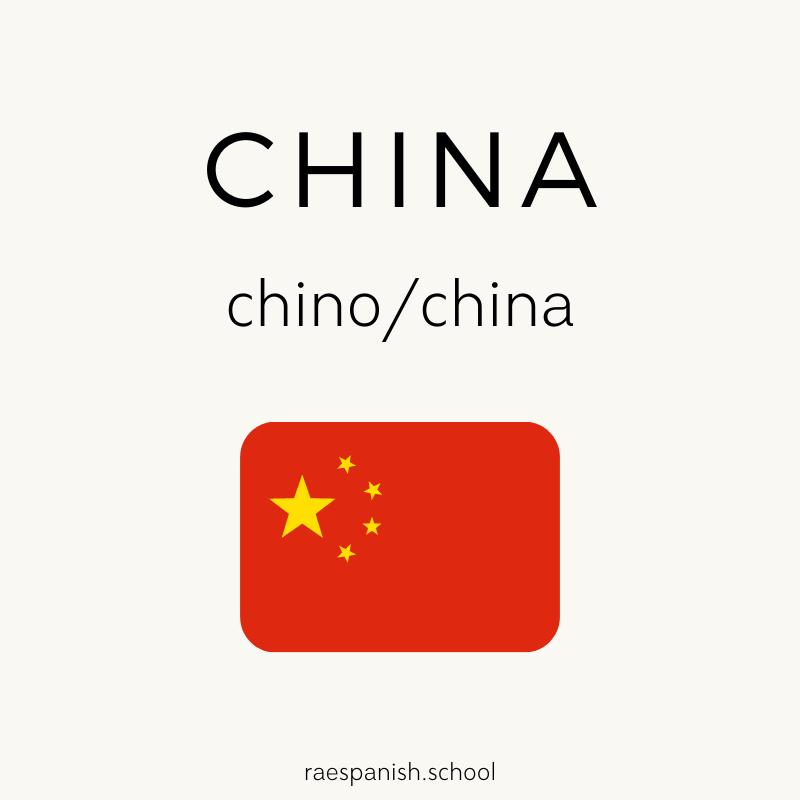 China: chino/china
